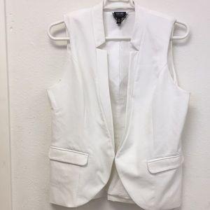 Jackets & Blazers - Sleeveless blazer